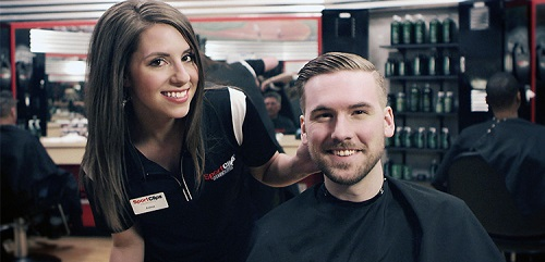 Sport Clips Haircuts of K-7 and Shawnee Mission​ stylist hair cut
